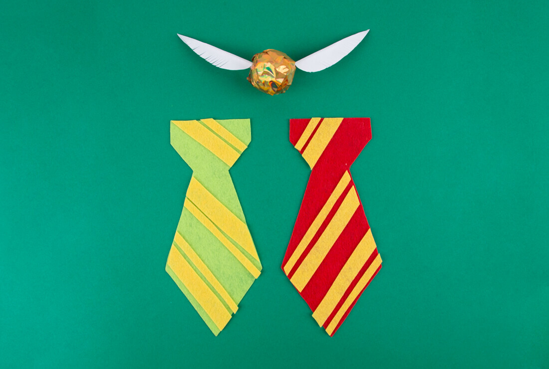 DIY My Little Day to do Harry Potter's ties