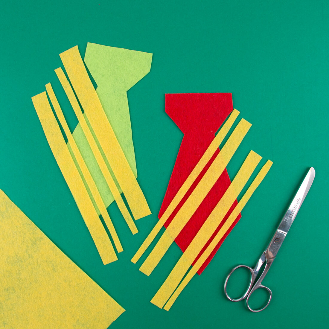 Making a free Harry Potter's tie, Gryffindor or Slytherin