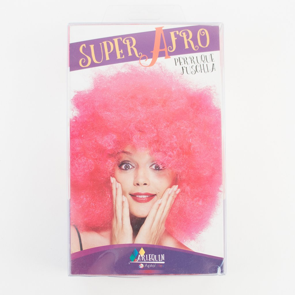 Perruque afro rose - My Little Day - le blog
