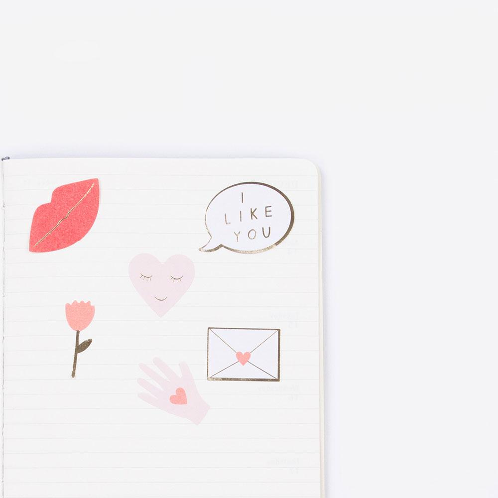 Stickers love - My Little Day - le blog