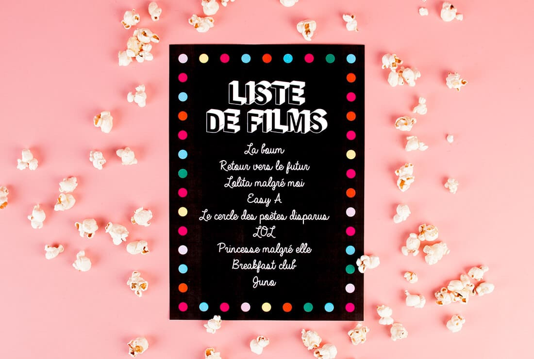 Pyjama Party Film List