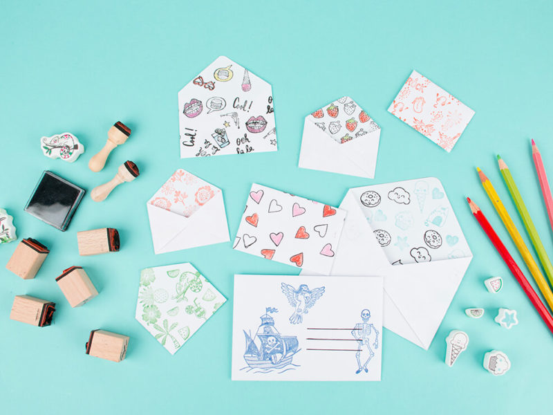 customisable envelopes