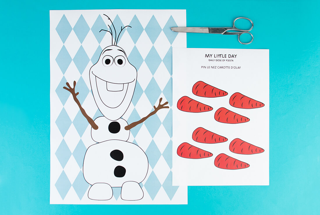 Pin the Carrot Nose on Olaf - image 1