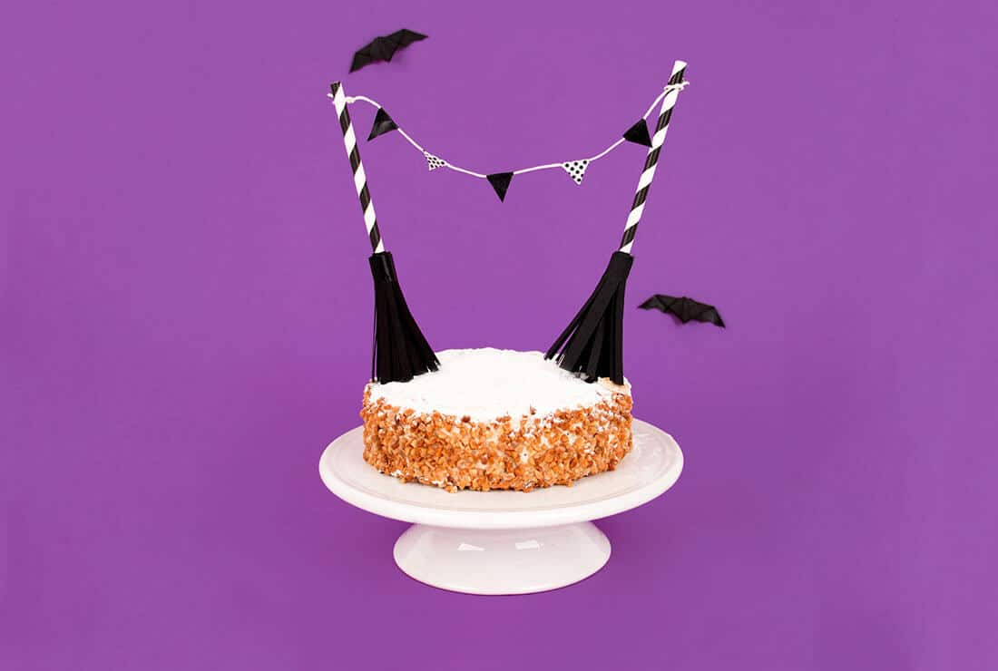 Cake bunting d'Halloween
