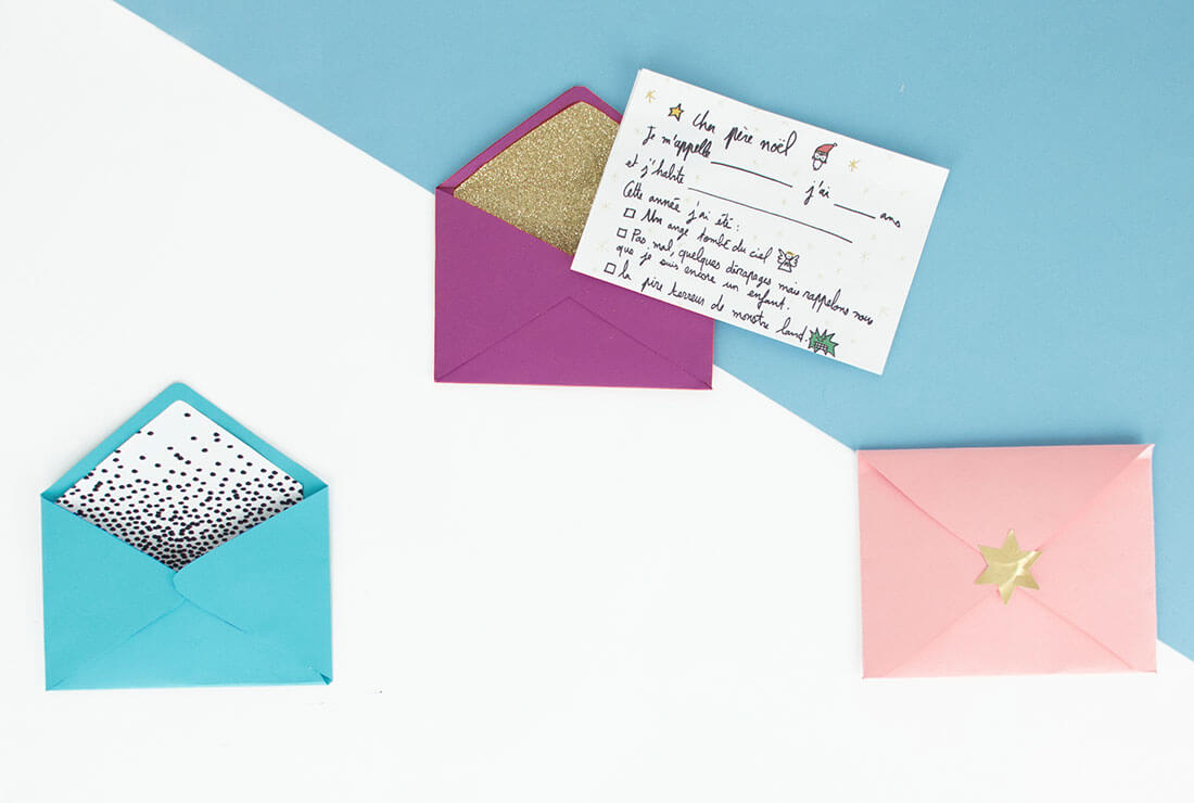 envelopes to personalise