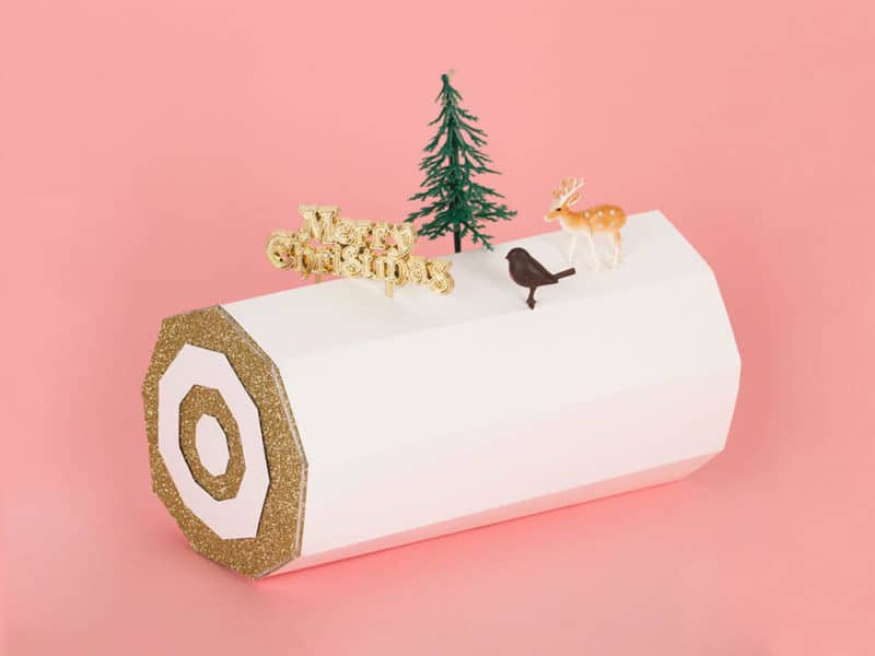 christmas DIY : Yule Log