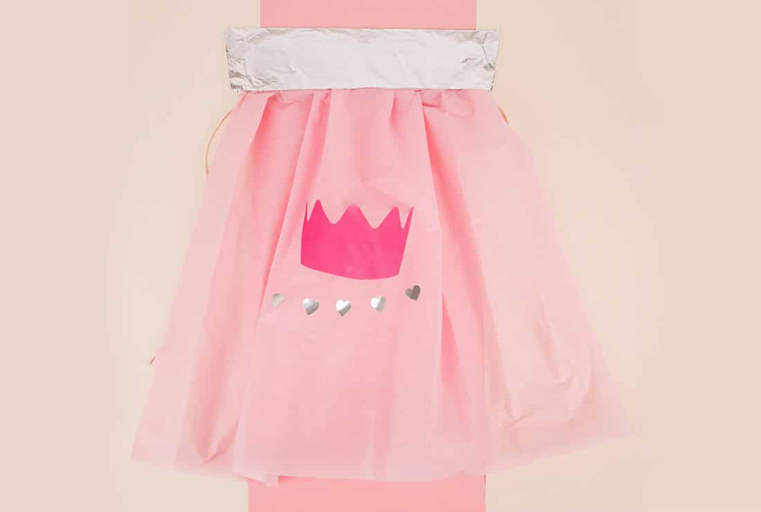 DIY cape princesse