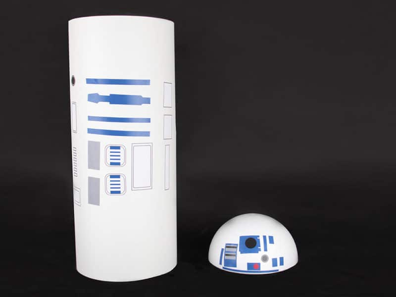 DIY R2D2 Star Wars