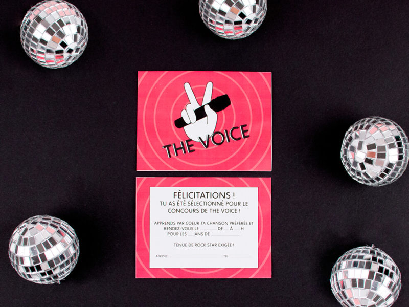 Invitation The Voice