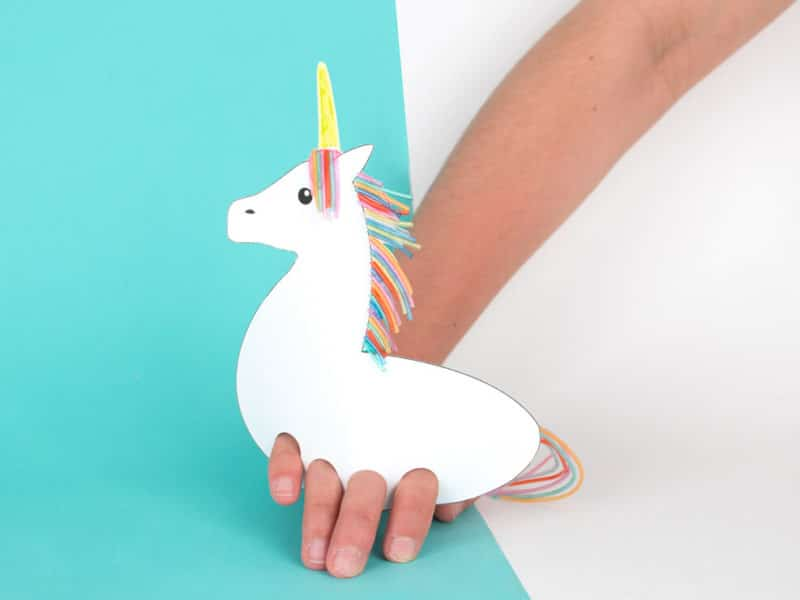 Puppet unicorn
