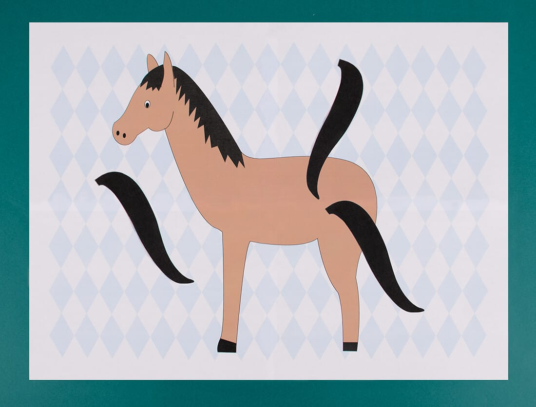 Pin The Tail On The Horse Knight Activities My Little Day Blog