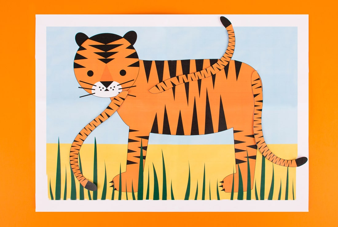 Pin the Tail on the Tiger   Safari DIYs   My Little Day   Blog