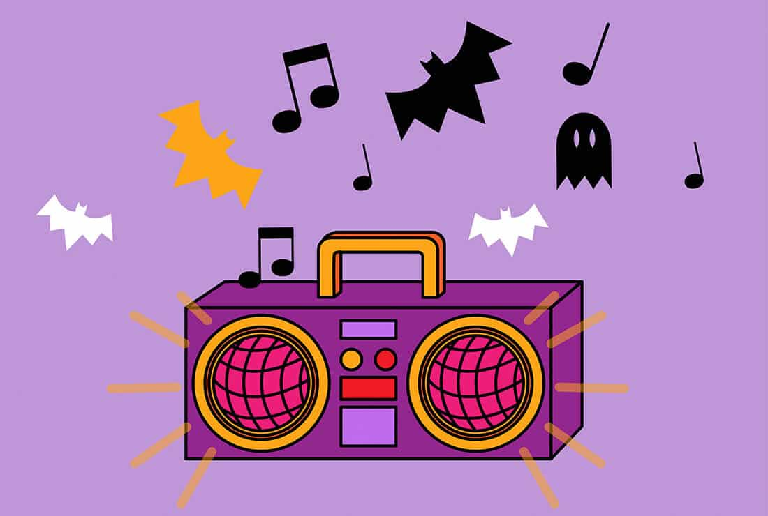 La playlist d'Halloween