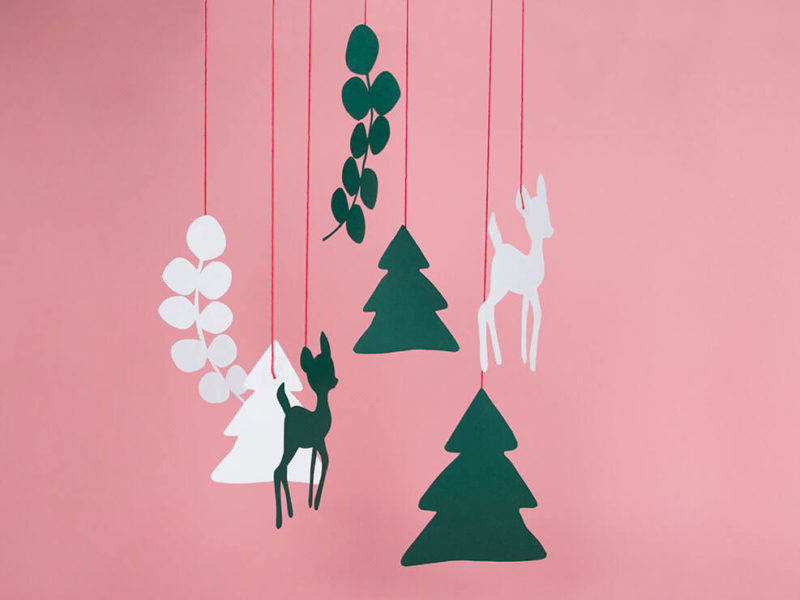hanging decoration christmas