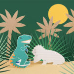 Les invitations dino de My Little Day