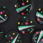 Disco stars assiettes