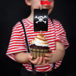 Kit cupcake pirate