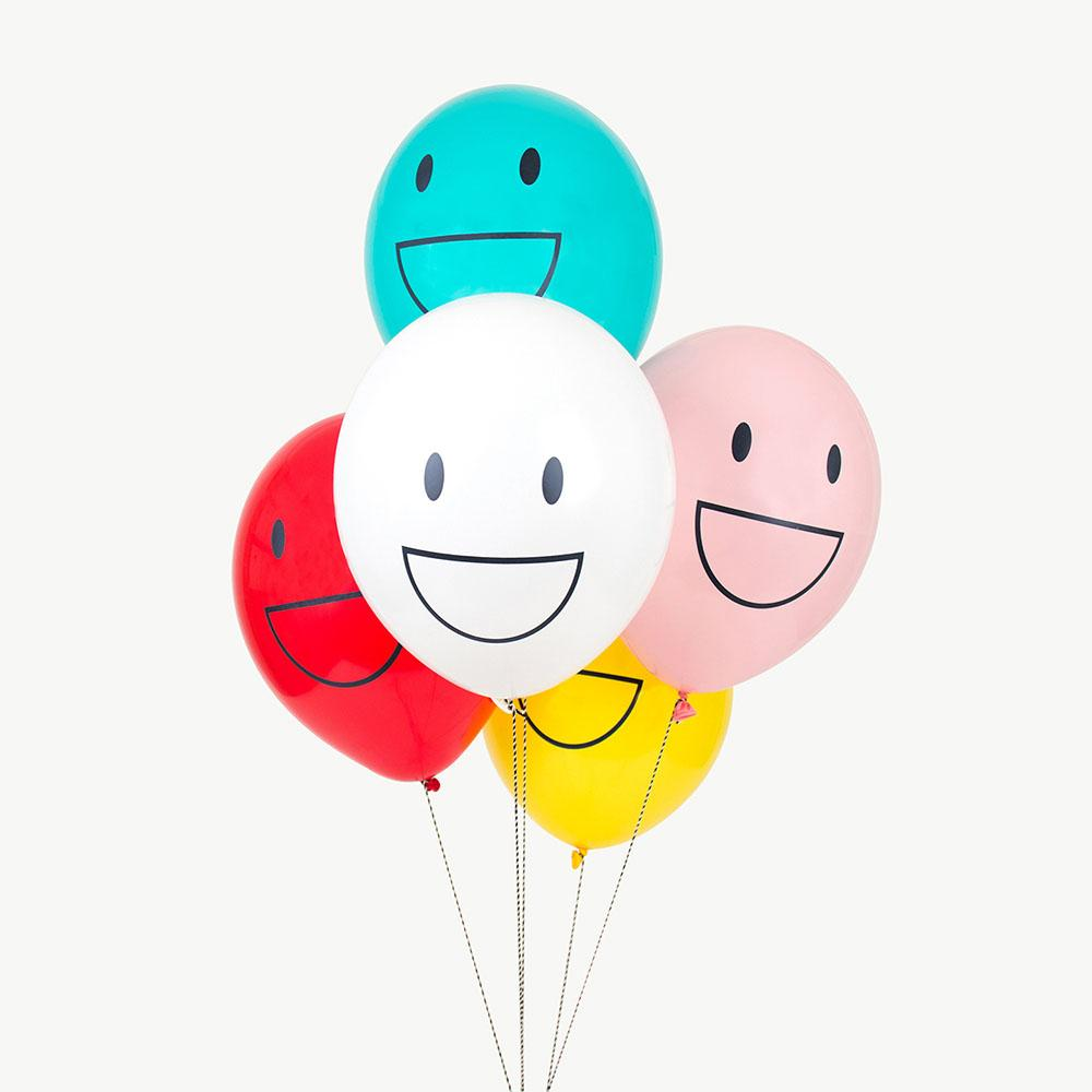 Ballons Happy faces - My Little Day - le blog