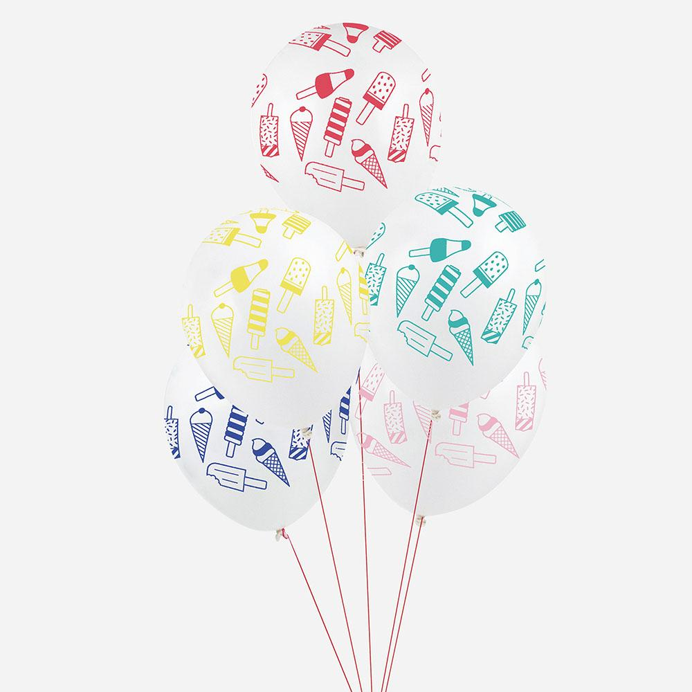 Ballons glaces - My Little Day - le blog