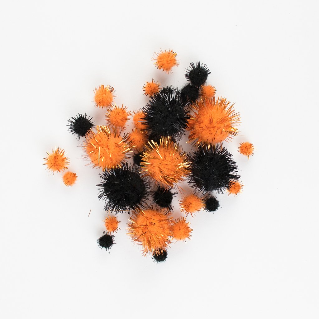 Pompons halloween.  - My Little Day - le blog