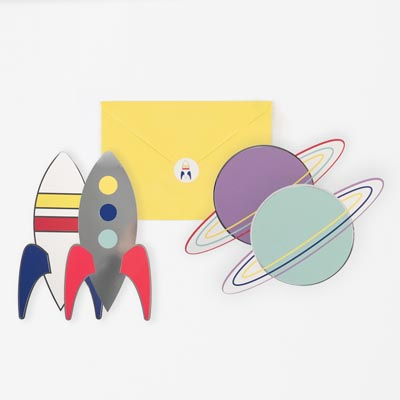 Cartes invitation astro - My Little Day - le blog