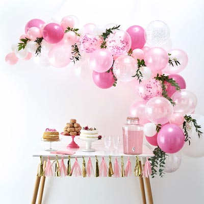 Arche de ballons roses - My Little Day - le blog