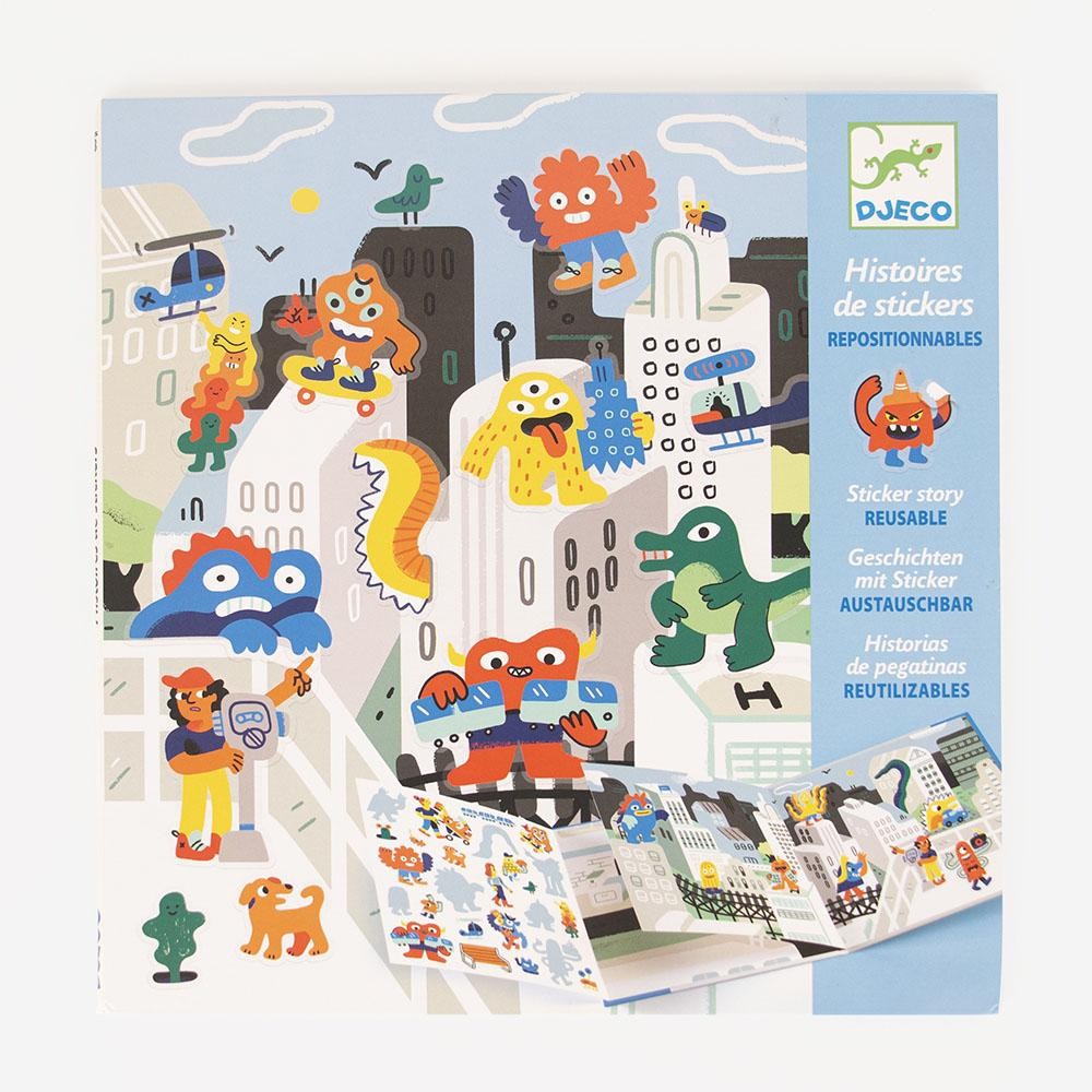 Stickers monstres - My Little Day - le blog